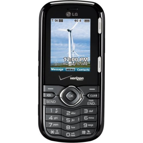 LG Cosmos VN250 Black No Contract No Data Verizon Cell Phone QWERTY Keyboard by LG
