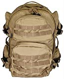 VISM by NcStar Tactical Back Pack, Tan (CBT2911), Outdoor Stuffs
