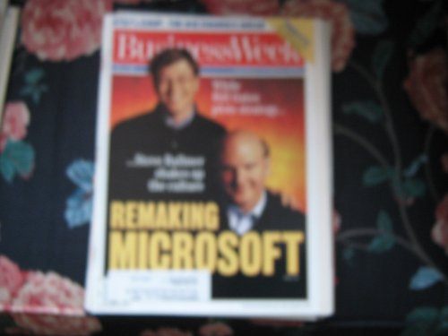 Business Week Magazine (BILL GATES & STEVE BALLMER ...Microsoft)