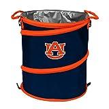 NCAA Auburn Tigers 3-n-1 Collapsible Trash Can, Orange