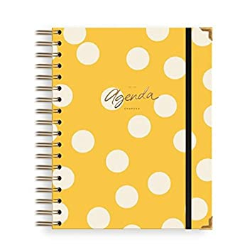 Charuca AG27 - Agenda 18-19, grande, color amarillo: Amazon ...