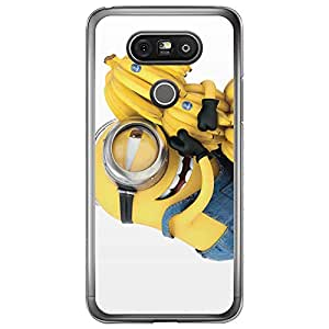 Loud Universe LG G5 Files Minion 6 Printed Transparent Edge Case - Multi Color
