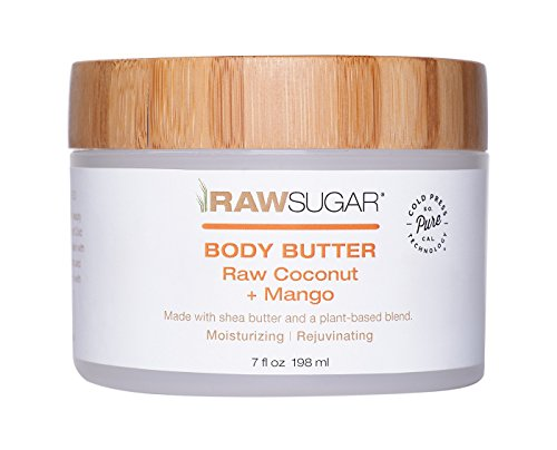Raw Sugar Body Butter Raw Coconut + Mango 7oz, pack of 1 ()