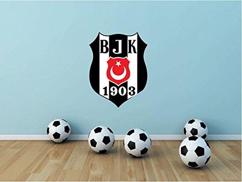fan products of Besiktas JK FC Turkey Soccer Football Sport Art Wall Decor Sticker 25