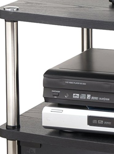 Convenience Concepts Designs2Go TV Stand with Cabinet for Flat Panel TV's Up to 25-Inch or 50-Pounds, Black by Convenience Concepts (Image #4)