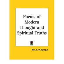 [(Poems of Modern Thought)] [Author: Rev E. W. Sprague] published on (February, 1998)