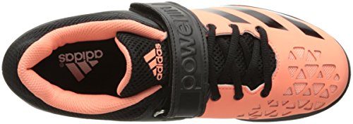Adidas Performance Powerlift.3Cross-entrenador del zapato Sun Glow Black/White