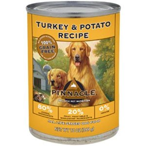 Pinnacle Turkey and Potato Grain-Free Formula Dog Food, 12.5-Ounce Cans, Case of 12, My Pet Supplies