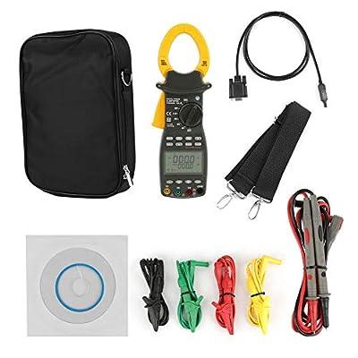 Handheld Multimeter Power,Professional MS2203 3-Phase Digital Multimeter Power Factor Clamp Meter