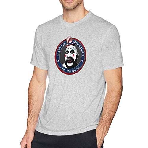 Ethel Electras Rob-Zombie Mens T-Shirt Gray S]()
