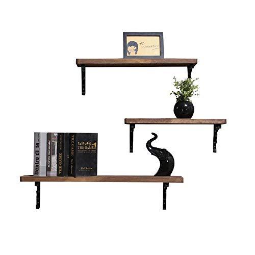 Solid Pine Corner Fireplace - WG Shelf Wall Shelf Word Separator Wall Shelf Wood Bookcase Shelf Decorative Laminates Creative Wall Shelf