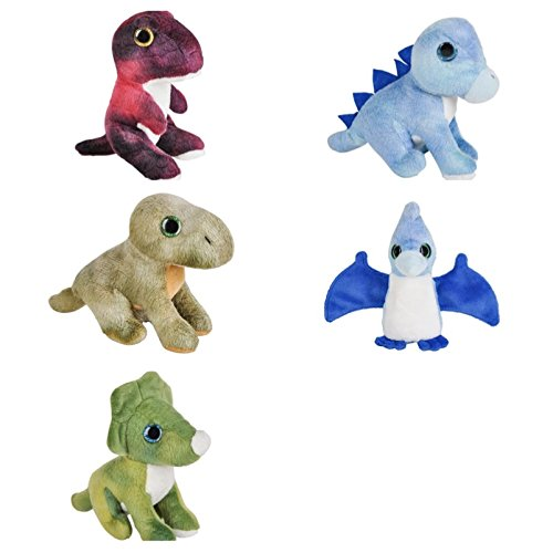 - Just4fun Five (5) Adorable Mini Dinosaur 5