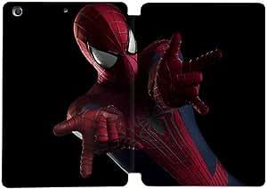 Cubierta de cuero y caja de la PC funda / soporte para funda de Apple iPad Mini 1,2,3 funda Con Magnetic reposo automático Función de despertador DIY por The Amazing Spider Man T8I6Mz3A6Ch