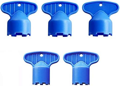 Fltaheroo 5 Stks Plastic Kraan Beluchter Reparatie Vervanging Tool Spanner voor Beluchter Wrench Sanitaire Waren Kraan Inflator Filter