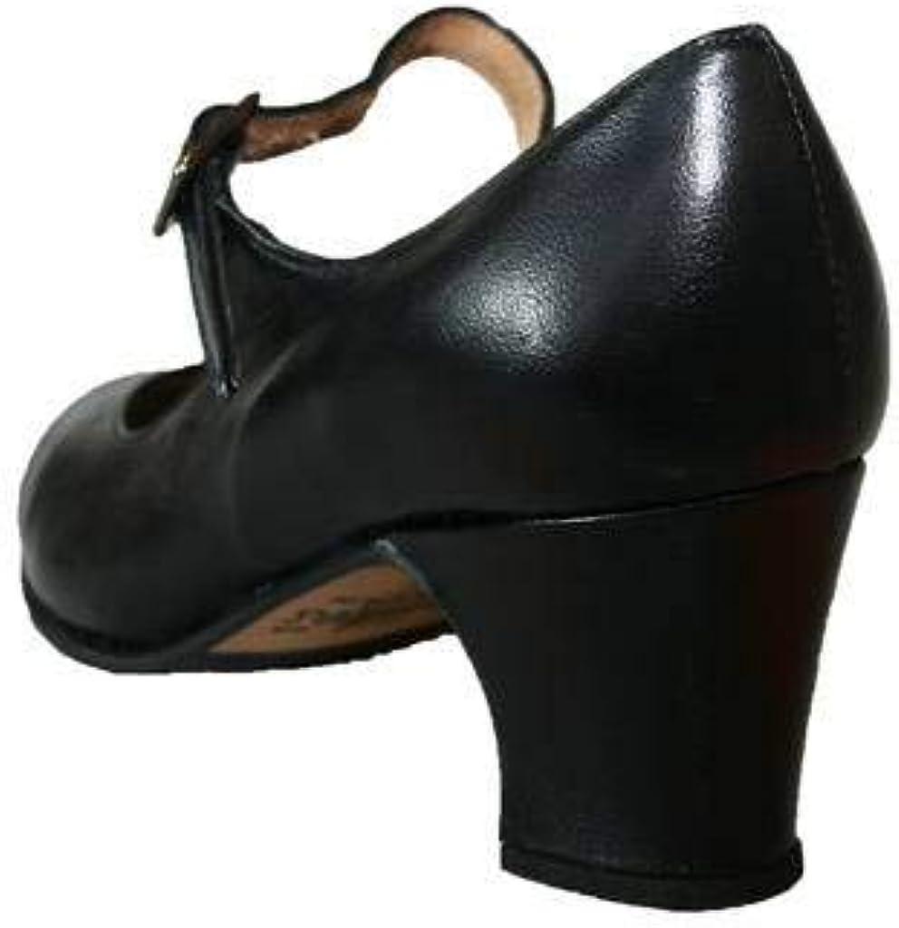 avec Clous D/ébutant Menkes Chaussure de Flamenco Cuir Femme