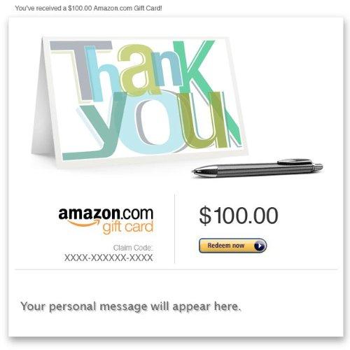 Amazon eGift Card - Thank You (Note)