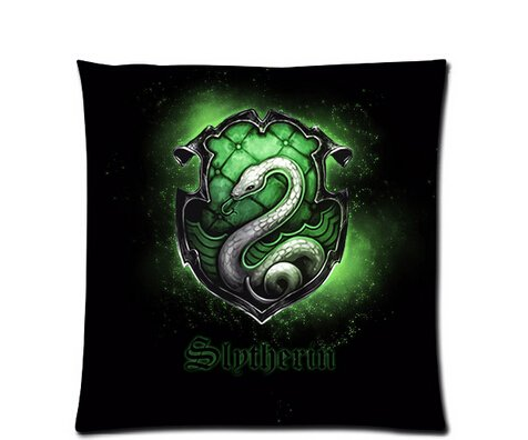 Hot New Pillowcase Custom Pillowcase Harry Potter Slytherin Symbol Pillow Case 18x18 Inch Two Sides (Slytherin Symbol)