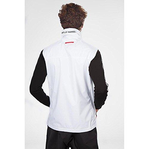 Helly Crew hombre para Chaleco 001 Vest Blanco Hansen Blanco 6qwCBr6U