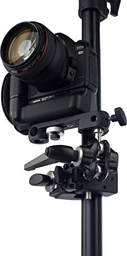 Kupo Double Ball Joint Adapter with Dual 5/8 Inches (16mm) Studs with Camera Bracket KG007212 by Kupo (Image #1)