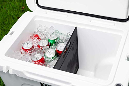 Short Side Cooler Divider for The Yeti Tundra Haul - Specifically Designed to Work with The New Yeti Tundra Haul Wheeled Cooler