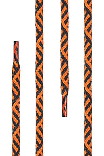 Für Aus Cm Ficchiano 5 Rundsenkel 27 Polyester 220 Ca Qualitäts schnürsenkel Twist Di Orange 100 Schwarz Farben Mm Arbeitsschuhe 5mm Und Ø Längen 70 4 Trekkingschuhe 1IF8q6