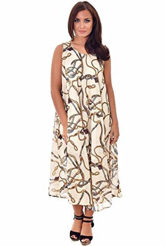 Nightingale Collection - Vestido - para mujer Beige