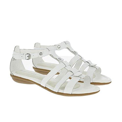 Hush Puppies Women's Sandals Nina Nishi White Leather UK4 White