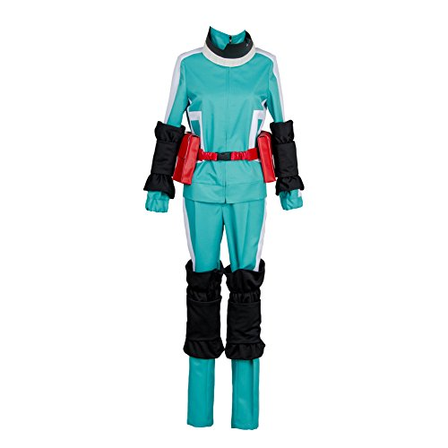 Midoriya Costume - Boku no Hero Academia My Hero Academia Izuku Midoriya Battle Suit Cosplay Costume,Medium