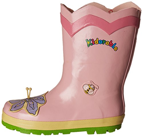 Kidorable Lotus Rain Boot (Toddler/Little Kid), Pink, 7 M US Toddler by Kidorable (Image #5)