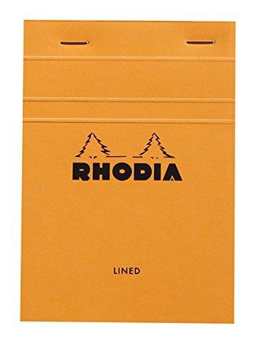Rhodia Classic French Paper Pads ruled 4 in. x 6 in. orange