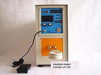 Calefactor de inducción de alta frecuencia 15KW 30-80 KHz para ...