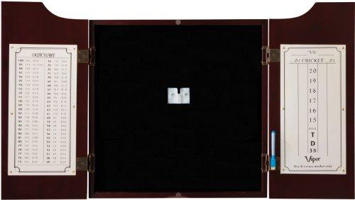 Viper Hudson Sisal/Bristle Steel Tip Dartboard Cabinet (Best Dart Board Cabinet)