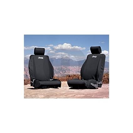 Amazon Com Jeep Wrangler Seat Cover Covers Front 07 09 Mopar Oem
