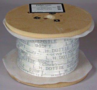 L.H. Dottie DWP502 Pull Line Measuring Tape, 3/4-Inch Diameter by 500-Feet Length