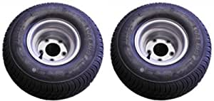 18.5X8.50-8 (215/60-8) Triton Class C Trailer Tire - Pair - For Watercraft/Snowmobile/Utility Trailers