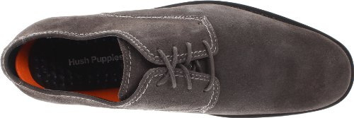 Hush Puppies Mens Plane Oxford Charcoal