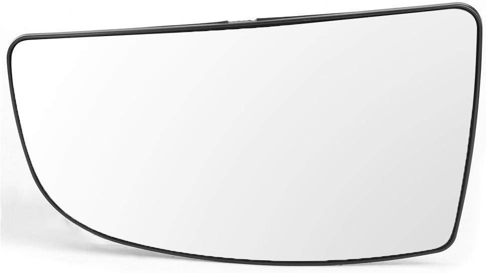 Rear View Mirror Glass on Passenger//Driver Side Door Rear View Side Door Mirror Glass 1855103 1855102 Fits for Fo-rd Transit Mk8 2014-2020 Left
