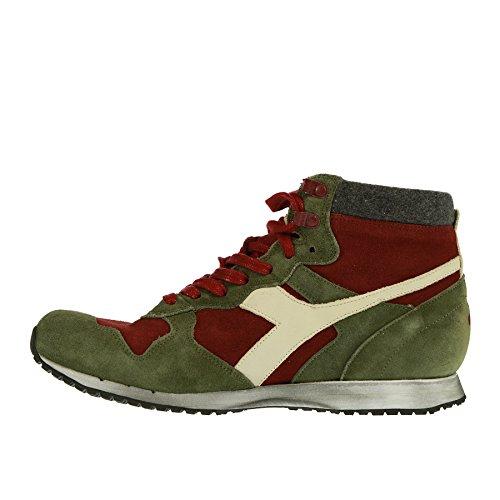in Verde Pelle Diadora Rossa Sneaker E 40 qwx8tvIHn
