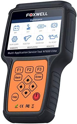 FOXWELL NT650 Elite Automotive Registeration product image