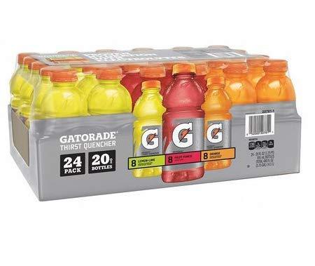 Gatorade Assorted Flavors 20 oz., PK24 by Gatorde...