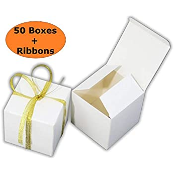 MissShorthair Gift Boxes40 Pack Solid Color Decorative Boxes For Adorable Small Decorative Gift Boxes
