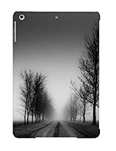 Podiumjiwrp High Quality Shock Absorbing Case For Ipad Air-eerie Fogy Road