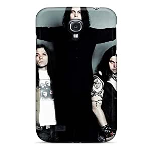 Bumper Hard Phone Case For Samsung Galaxy S4 (FGj2672rGNR) Support Personal Customs Lifelike His Infernal Majesty Band HIM Series
