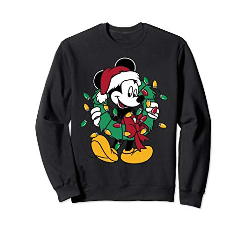 Mickey Mouse Christmas Lights Pullover
