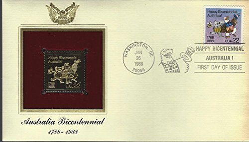 Australia Bicentennial 1788 - 1988 First Day Issue Envelope and Stamp Jan. 26, 1988 ()