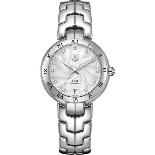 Tag Heuer Link Ladies Diamond Swiss Automatic Watch WAT2311.BA0956