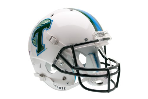 NCAA Tulane Green Wave Replica XP Helmet by Schutt