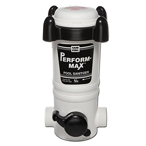 King Technology Above Ground Pool in-Line Chlorine Chemical Feeder - up to 20,000 Gallons