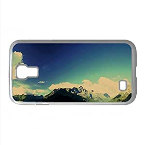 Mountains Landscape Nature 23 Watercolor style Cover Samsung Galaxy S4 I9500 Case (Mountains Watercolor style Cover Samsung Galaxy S4 I9500 Case)