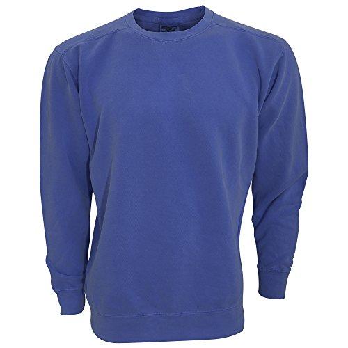 Comfort Colors Adults Unisex Crew Neck Sweatshirt (XL) (China Blue)